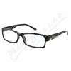 Brýle čtecí +1. 00 FLEX černé s kov. doplňkem
