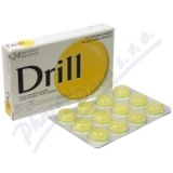 Drill Citron Mentol Pastilky orm. pas. 24