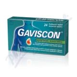 Gaviscon žvýkací tablety por. tbl. mnd.  24ks
