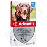 Advantix pro psy nad 25kg spot-on a. u. v. 1x4ml