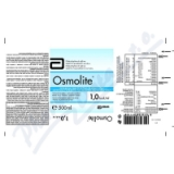 OSMOLITE por. sol. 1x500ml 1. 0 kcal-ml