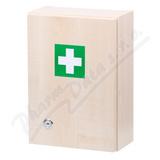 Lékárnička - dřevěná s náplní do 5 osob-ZM 05