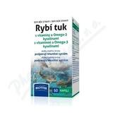 Biotter Rybí tuk s vitamíny a Omega-3 kys.  cps. 60