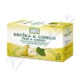 Ovocno-bylinný čaj Hruška +Ginkgo 20x2g Fytopharma