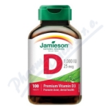 JAMIESON Vitamín D3 1000 IU tbl. 100