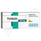 Pyridoxin Generica tbl. 60