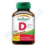 JAMIESON Vitamín D3 1000 IU cps. 180
