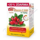 GS Vitamin C500 se šípky tbl. 100+20 2016