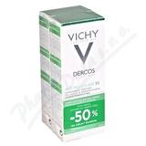 VICHY Dercos šampon lupy mast.  2018 2x200ml