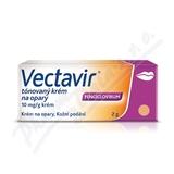 Vectavir tónovaný krém na opary 10mg-g crm. 2g
