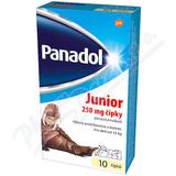 Panadol Junior 250mg sup.  10 CZ