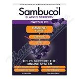 SAMBUCOL Immuno Forte + vitamin C + zinek tob. 30