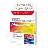 GS Extra Strong Multivitamin tbl. 30+10 2017