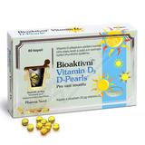 Bioaktivní Vitamin D3 D Pearls cps. 80