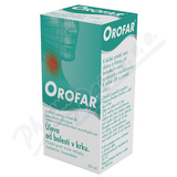 Orofar 2mg-ml+1. 5mg-ml orm. spr. sol. 1x30ml+apl CZ