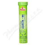HAAS Šumivé tablety Hořčík+vitamín B6 20ks
