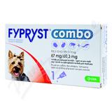 FYPRYST combo 1x0. 67ml spot-on pro psy 2-10kg