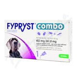 FYPRYST combo 1x4. 02ml spot-on pro psy nad 40kg