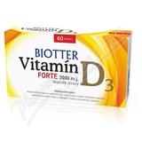 Biotter Vitamín D3 Forte doplněk stravy cps. 60