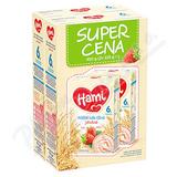 Hami kaše Super Cena 2x225g ml.  rýž.  jahodová