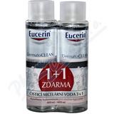 EUCERIN DermatoCLEAN mic. voda 400ml 1+1ZDARMA_2018