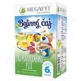 Megafyt Bylinný čaj každodenní pití pro děti 20x2g