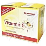 Farmax Vitamin C postup. uvol.  tob. 120 spec.  balení