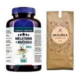 Melatonin Mučenka tbl. 100 + Meduňkový čaj 50g