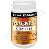 Magnex citrate 375 mg+B6 tbl. 100+50