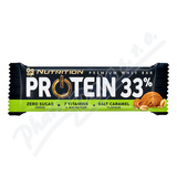 GO ON Proteinová tyčinka 33% slaný karamel 50g