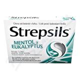 Strepsils Mentol a eukalyptus 0. 6mg-1. 2mg pas. 24