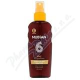 Nubian olej na opalování ve spreji SPF6 150ml