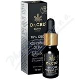 Dr. CBD 15% CBD konop. olej Forte č. pepř rozmar. 10ml