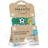 PARAKITO Repelentní náramek dětský Fotbal+2 náplně