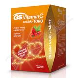 GS Vitamin C1000+šípky tbl. 100+20 dárek 2020 ČR-SK