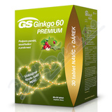GS Ginkgo 60 Premium tbl. 60+30 dárek 2020 ČR-SK