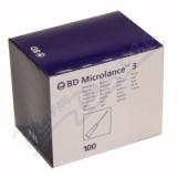 BD Microlance Inj.  jehla 25G 0. 50x25 oranž.  100ks
