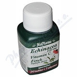MedPharma Echinacea 100mg+vit. C+zinek tbl. 37