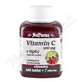 MedPharma Vitamín C 500mg s šípky tbl. 107 prod. úč.