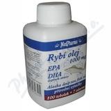 MedPharma Rybí olej 1000mg+EPA+DHA tob. 107