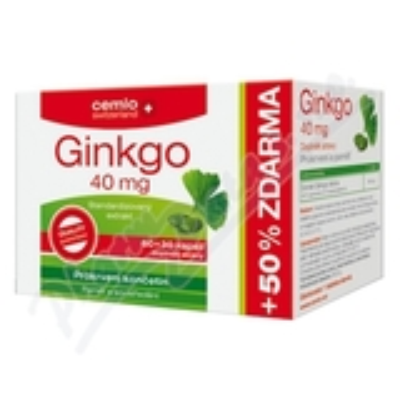 Cemio Ginkgo 40mg cps. 60+30
