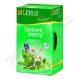 LEROS NATUR Spánek.  nervy n. s. 20x1. 3g