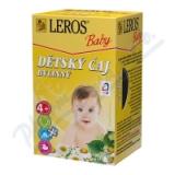 LEROS BABY Dětský čaj bylinný n. s. 20x1. 8g