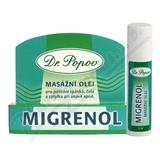 Dr. Popov Migrenol roll-on masážní olej 6ml