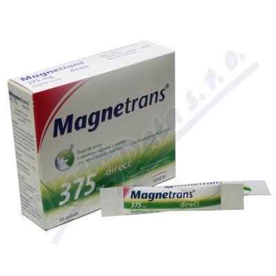 MAGNETRANS 375mg 20 tyčinek granulátu