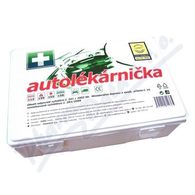 Autolékárnička plastová 341-2014 DRUŽSTVO LÉKÁREN
