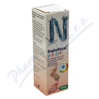 Septanazal děti 0.5mg-50mg v 1ml nas.spr.so.1x10ml