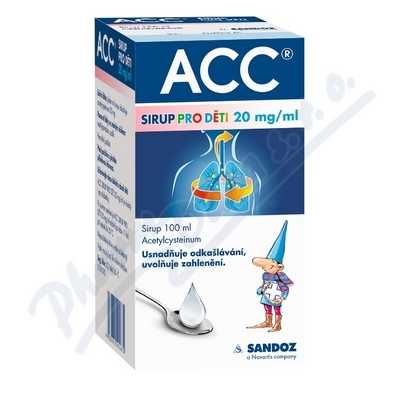 ACC sirup pro děti 20mg-ml por.sir.1x100ml-2000mg