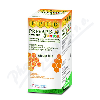 PREVAPIS JUNIOR sirup tus 100 ml