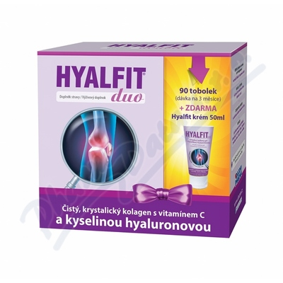 Hyalfit DUO tob.90 + krém 50ml